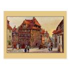 Vintage malende Nürnberg Albrecht Dürer Hauskunst Postkarte