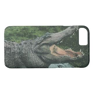 Vintage Marinetierlebens-Reptilien, Krokodil iPhone 8/7 Hülle