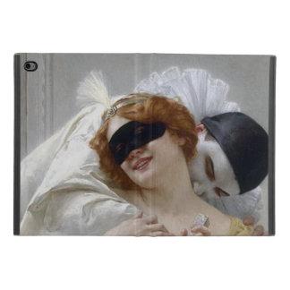 Vintage Maskerade Pierrot Liebhaber iPad Mini 4 Hülle