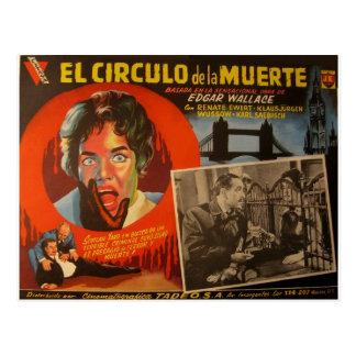Vintage mexikanische Lobby-Karte:  Edgar Wallace Postkarte