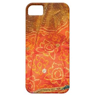 Vintage Mode: Jaipur-Druck-Gold mit Zari Arbeit Hülle Fürs iPhone 5