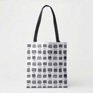 Vintage Modehandtaschenmuster-Taschentasche Tasche