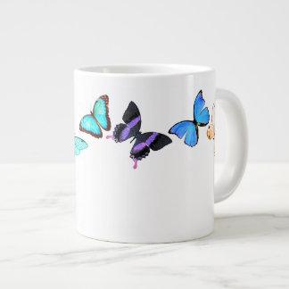 Vintage Morpho Schmetterlings-Tier-Insekten-Tasse Jumbo-Tasse