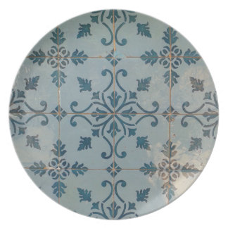 Vintage Mosaiken Portugals Teller