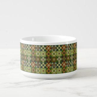 Vintage Mosaiktalavera-Verzierung Kleine Suppentasse