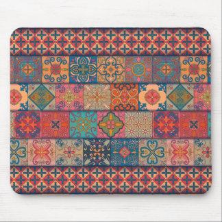 Vintage Mosaiktalavera-Verzierung Mousepad