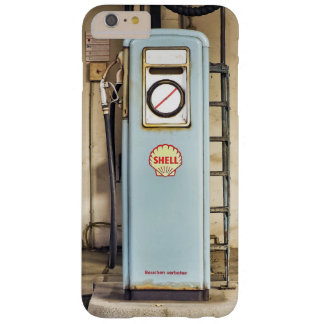 Vintage Muschel-Gas-Treibstoff-Pumpe Barely There iPhone 6 Plus Hülle