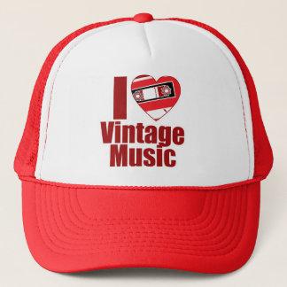 Vintage Musik der Liebe I Truckerkappe