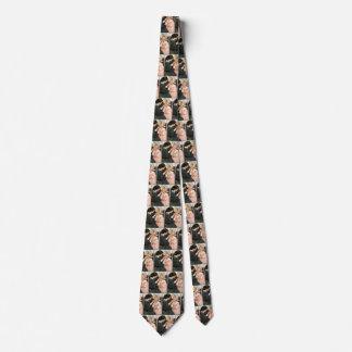 Vintage Mutter und Kind durch Jessie Willcox Smith Bedruckte Krawatte