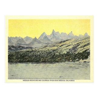 Vintage Nadeln Kalifornien Postkarte