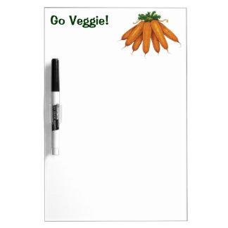 Vintage Nahrung, Bündel Bio Karotten-Gemüse Memoboard
