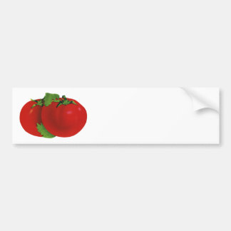 Vintage Nahrungsmittel, Bio rote reife Autoaufkleber