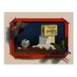 Vintage Nahrungsmittelpostkarte