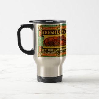 Vintage Neufundland-Hummer-Reise-Tasse Reisebecher