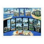 Vintage New-Jersey Postkarte