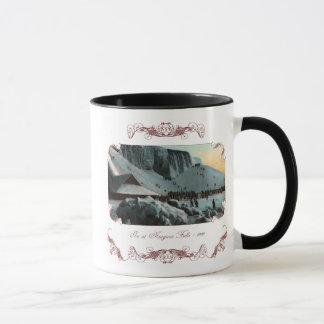 Vintage Niagara- Fallseis-Kaffee-Tasse Tasse