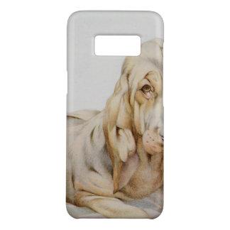 Vintage niedliche Bluthunde, Welpen-Hunde durch EJ Case-Mate Samsung Galaxy S8 Hülle