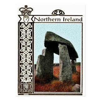 Vintage Nordirland-Postkarte Postkarte