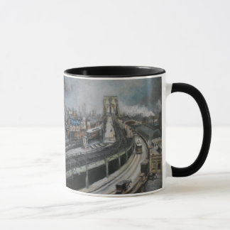 Vintage NYC New York City Brooklyn Brücke Tasse