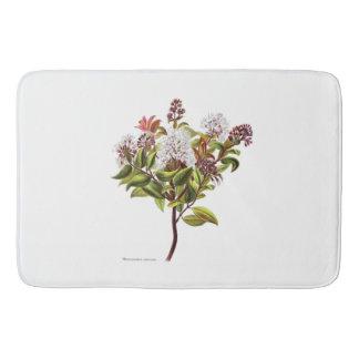 Vintage NZ Blumen - Meterosideros albiflora Badematten