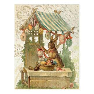 Vintage Osterhasenpostkarte Postkarten