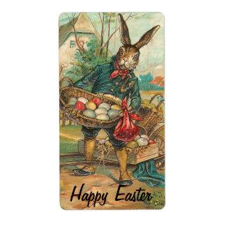 Vintage Ostern-Aufkleber
