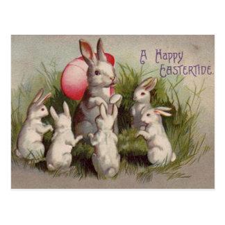 Vintage Ostern-Feiertags-Gruß-Postkarte Postkarte