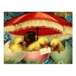 Vintage Ostern-Karte (1) Postkarte