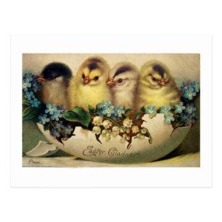Vintage Ostern-Karten-Wiedergabe-Postkarte, Postkarte