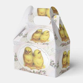 Vintage Ostern-Küken, Süßigkeits-Kasten Geschenkschachtel