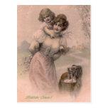 Vintage Ostern Postkarte