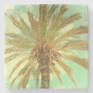 Vintage Palme Steinuntersetzer