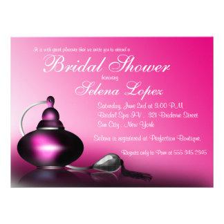 Vintage Parfüm-Flaschen-Brautparty-Einladungen
