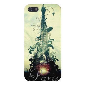 Vintage Paris-Fantasie iPhone 5 Etuis