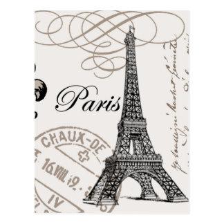 Vintage Paris… Postkarte