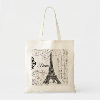 Vintage Paris… Taschentasche Budget Stoffbeutel