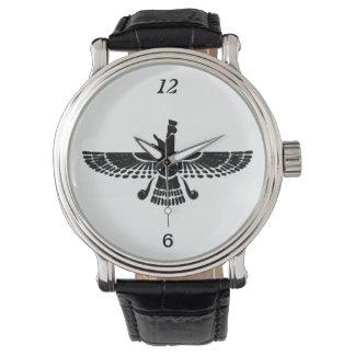 Vintage persische Uhr