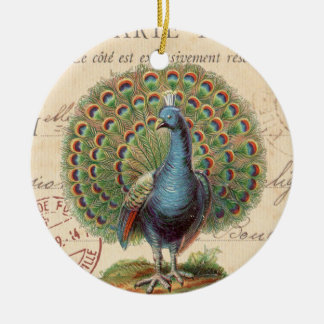 Vintage Pfau… Verzierung Weihnachtsbaum Ornament