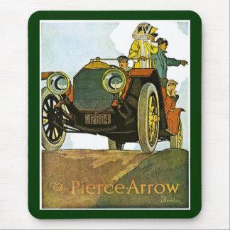 Vintage Pierce-Pfeil Anzeige Mauspads