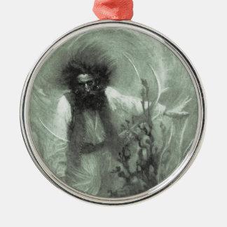 Vintage Piraten, Kapitän Goldsack durch Howard Silbernes Ornament