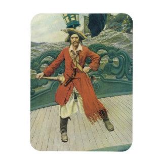 Vintage Piraten, Kapitän Keitt durch Howard Pyle Magnet