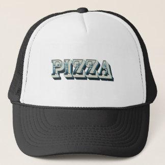 Vintage Pizza für trendy Hipster und Feinschmecker Truckerkappe