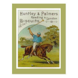Vintage Plakat, Huntley und Palmers Kekse, Postkarte