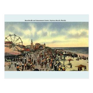 Vintage Postkarte Daytona Beach Florida