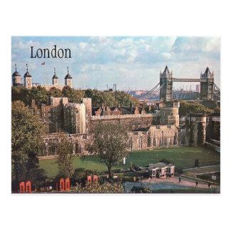 Vintage Postkarte Londons