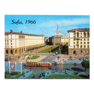 Vintage Postkarte Sofias