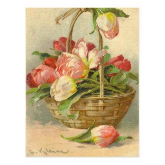 Vintage Postkarten-Wiedergabe Catherine Klein Postkarte