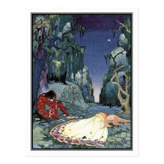 Vintage Prinzessin durch Virginia Frances Sterrett Postkarte