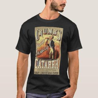 Vintage Produkt-Aufkleber-Kunst, die T-Shirt