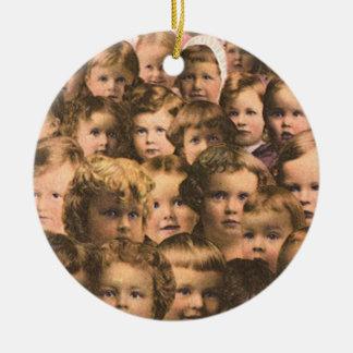 Vintage Produkt-Aufkleber-Kunst, Eskays Keramik Ornament